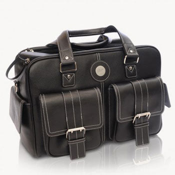 Jill-e Leather Camera Bag Medium (Black)
