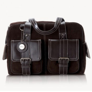 Jill-e Leather Camera Bag Medium (Choc Brown)