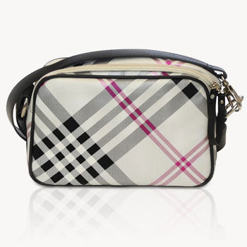 Jill-e E-GO Essential Camera Bag (Black Plaid)