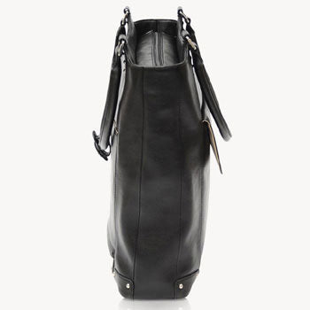 Jill-e E-GO Laptop Tote Leather (Black)