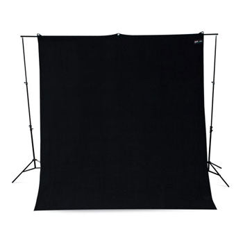 Westcott Black9'x10' Wrinkle Resistant Photo Backdrop