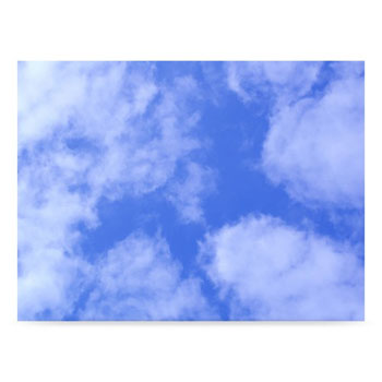 Westcott Clouds 6'x8' Scenic Photo Back Drop