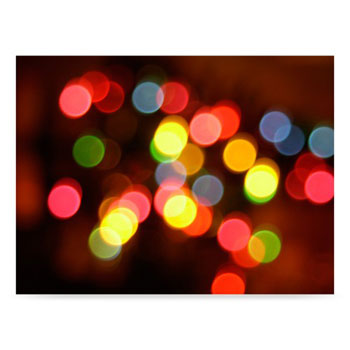 Westcott Holiday Lights 6'x8' Scenic Photo Back Drop