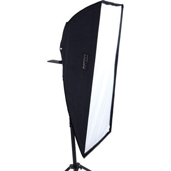 "Westcott Magic Slipper 18""x42"" Asymmetrical Stripbank Softbox with Silver Interior Kit"
