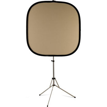 "Westcott 42"" Bruce Dorn Natural Muslin-Silver Illuminator Collapsible Reflector with Travel Case"