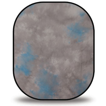 Westcott April Showers-Heather 5'x6' Reversable Collapsible Backdrop