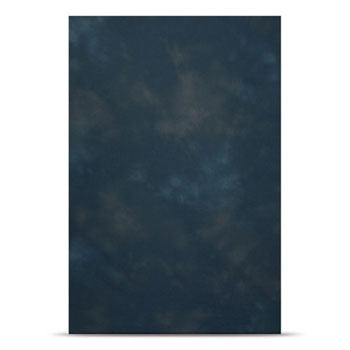 Westcott Gentian Blue 10'x24' Wrinkle-Resistant Fabric Backdrop