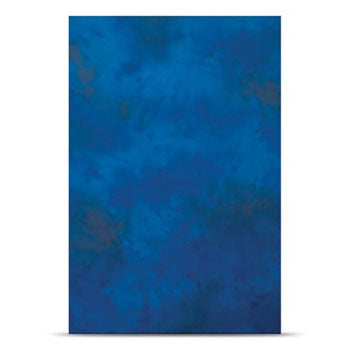 Westcott Costa Brava Blue 10'x24' Wrinkle-Resistant Fabric Backdrop