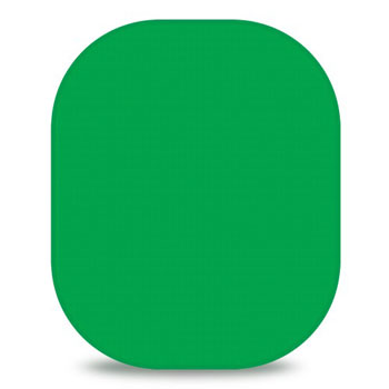 Westcott Chroma-Key Green 6'x7' Collapsible Backdrop