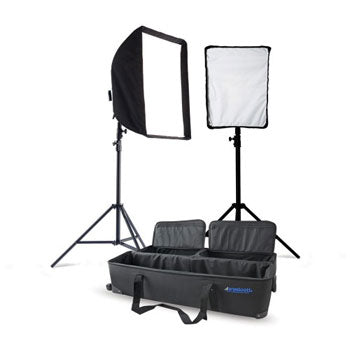 Westcott SpiderLite TD6 Constant Lights 2-Light Kit with 1 Small & 1 Medium Softbox