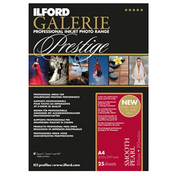 Ilford Galerie Prestige Smooth Pearl Inkjet Paper (11x17 in. 25-sheets)