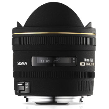 Sigma 10mm F2.8 EX DC HSM Fisheye Lens for Sigma