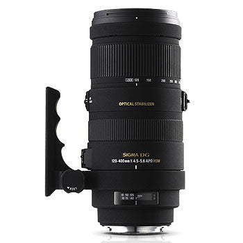 Sigma 120-400mm f4.5-5.6 DG APO OS HSN Lens for Pentax