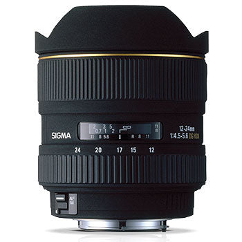Sigma 12-24mm F4.5-5.6II DG ASP-HSM Lens for Sony
