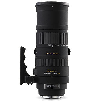 Sigma 150-500mm F5-6.3 APO DG OS HSM Lens for Sigma
