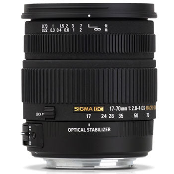 Sigma 17-70mm F2.8-4 DC OS Macro HSM Lens for Canon