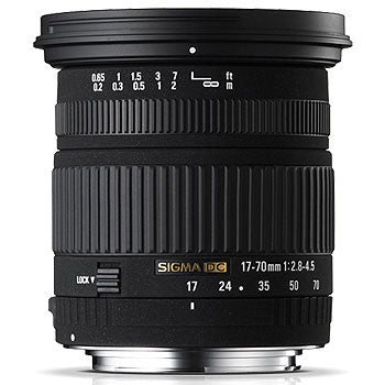 Sigma 17-70mm F2.8-4 DC Macro HSM Lens for Sony