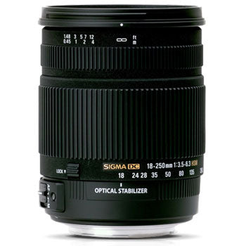 Sigma 18-250mm F3.5-6.3 DC Macro OS HSM Lens for Pentax
