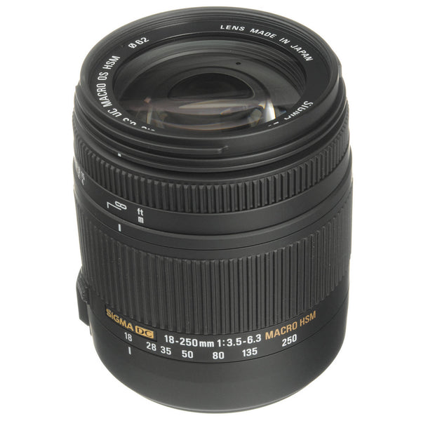 Sigma 18-250mm F3.5-6.3 DC Macro OS HSM Lens for Sony A-Mount