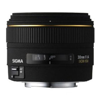 Sigma 30mm F1.4 EX DC HSM Lens for Sigma