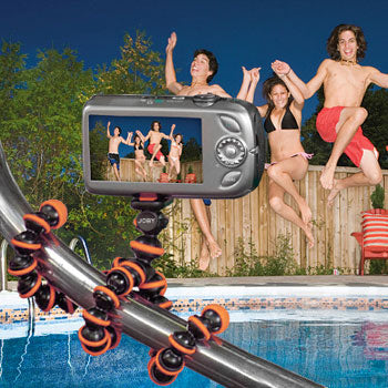 Joby GorillaPod Camera Tripod (Black-Orange)