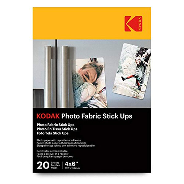 KODAK Photo Fabric Stick Ups 4x6