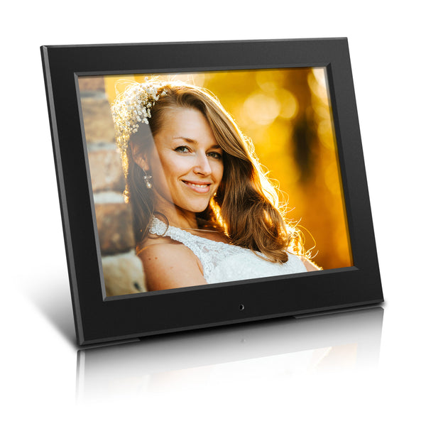 Aluratek 8 Inch Slim Digital Photo Frame with Auto Slideshow Feature