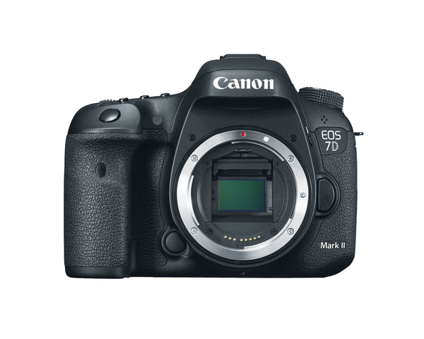 Canon EOS 7D Mark II 20.2 MP DSLR with 9 Premium Accessories