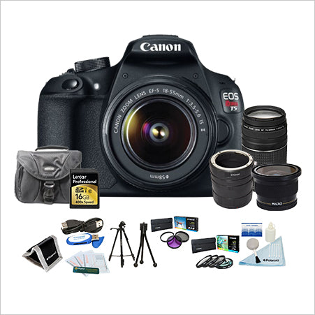 Canon EOS Rebel T5 18-55mm Photographers Platinum Kit