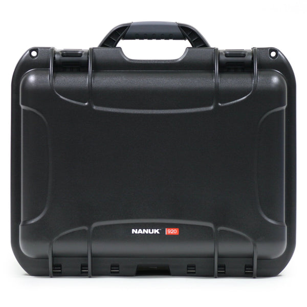 NANUK 920 Hard Case with Cubed Foam Plus Memory Card Wallet and SD-microSD Reader-Writer