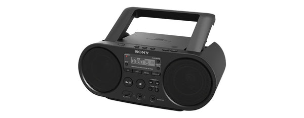 Sony Portable Full Range Stereo Boombox Sound System w- MP3 CD Player, AM-FM Radio, USB Input, AUX Jack + DB Sonic Accessories