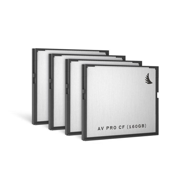 Angelbird AVpro CFast 160 GB Solid State Drives (4 Pack)