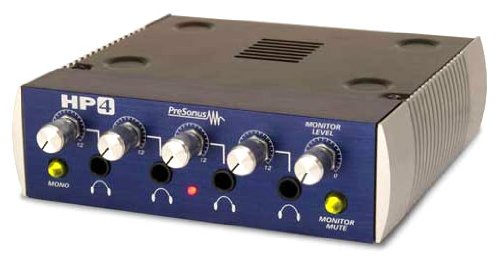 Presonus HP4 - 4 Channel Headphone Amp with 2 1-4