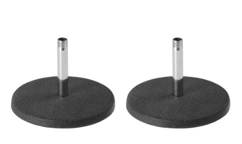 On Stage Stands The Ideal Podcasting Stand: on Stage DS7100C Basic Fixed-Height Desktop Microphone Stand - Chrome - 2 Pack