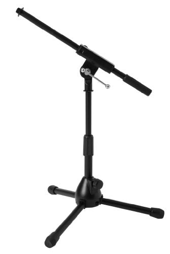 Ultimate Support JS-MCFB50 Low-Profile Mic Stand with Fixed-length Boom with Adjustable Height of 16
