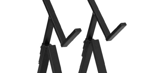 Ultimate Support JS-AS100 5 Optimized Height Option, Tiltback Amp Stand, Easy Storage and Transport - 2 Pack