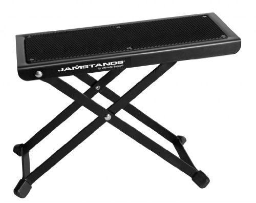 Ultimate Support Guitar Gig Kit: Ultimate Support JS-AG75 A-Frame Guitar Stand with Ultimate Support Guitar Foot Stool