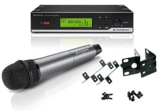Sennheiser XSW 35 Wireless System (Frequency: 542-578 MHz) with Handheld Dynamic Microphone and Sennheiser Rack Mount Kit