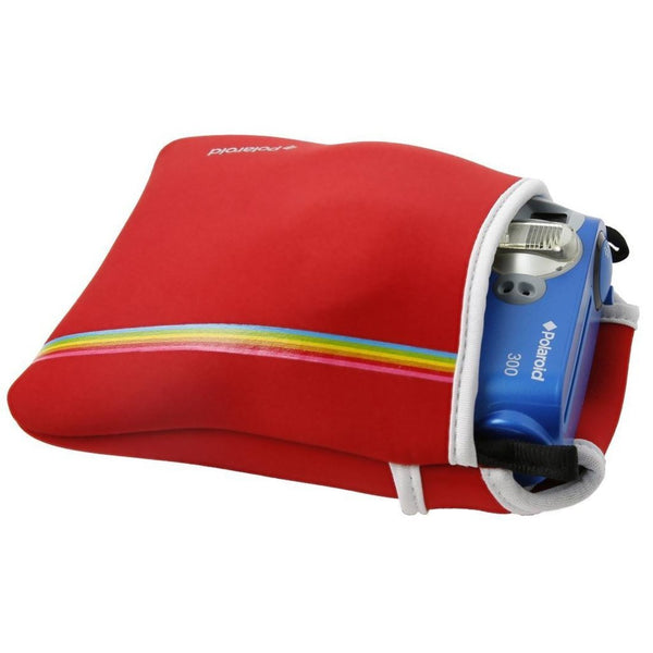 Polaroid Neoprene Pouch for The Polaroid PIC300 Instant Camera (Red)