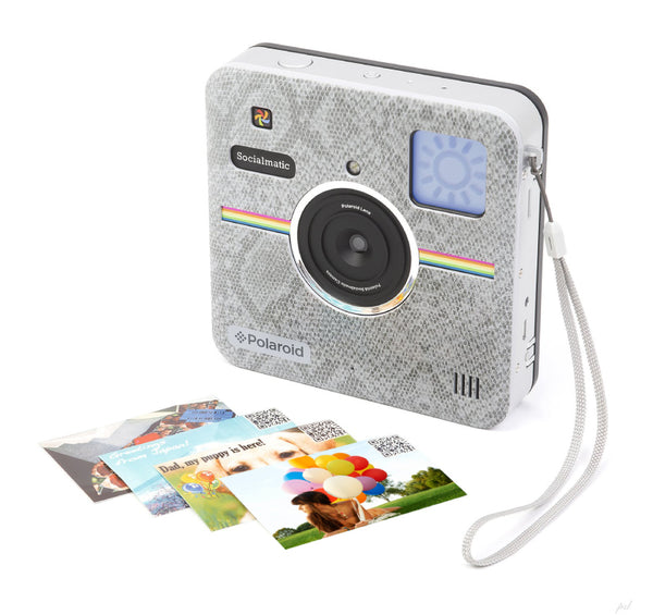 Polaroid Front Plate for Polaroid Socialmatic Camera - Snake Skin Look