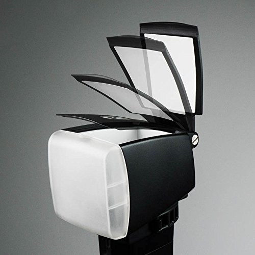 BounceLite Solo Flash Diffuser with Quick Change Filter System