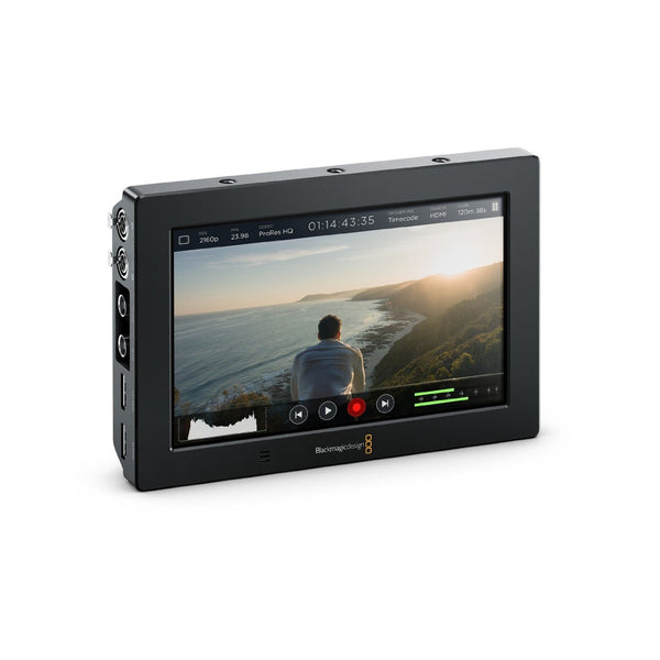 "Blackmagic Design Video Assist 4K 7"" HDMI-6G-SDI Recording Monitor"