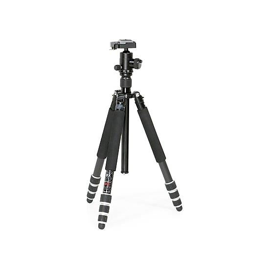 Calumet 8122 4-Section 8x Carbon Fibre Tripod with Ball Head