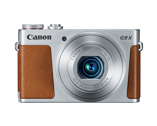 Canon PowerShot G9 X 20.2MP Compact Digital Camera (Silver)