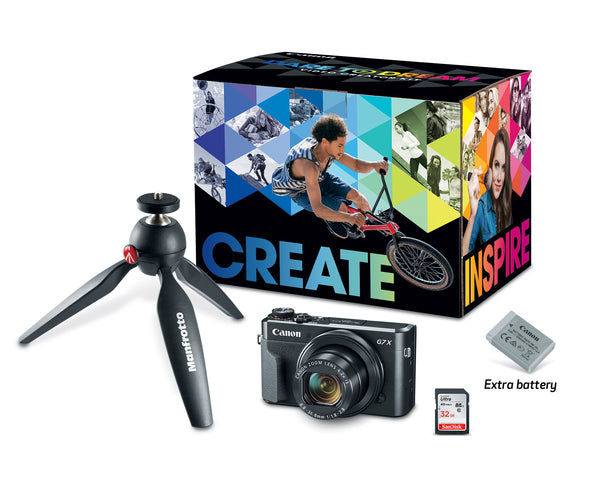 Canon PowerShot G7 X Mark II Camera with Video Creator Kit