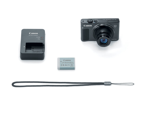 Canon PowerShot SX620 HS 20.2MP Digital Camera (Black)