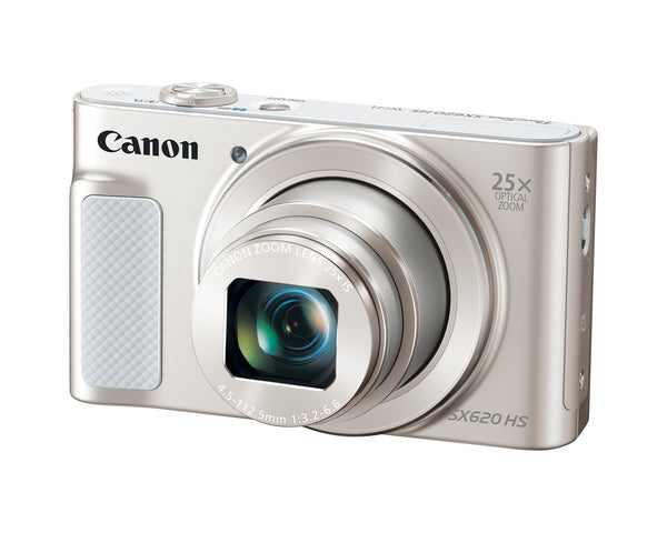 Canon PowerShot SX620 HS 20.2MP Digital Camera (Silver)