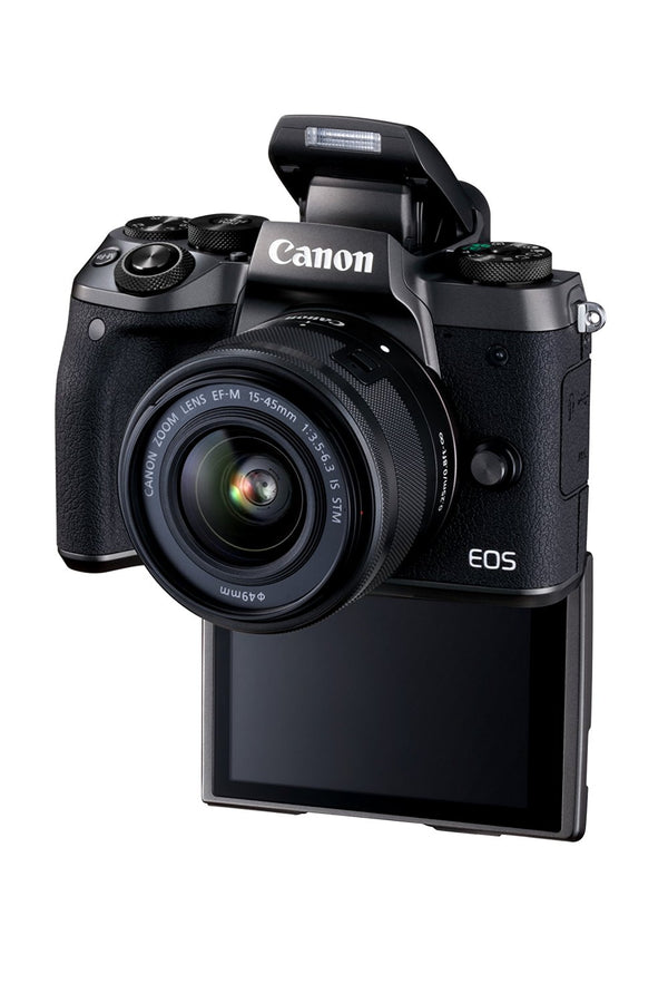 Canon EOS M5 Mirrorless Camera with 15-45mm Lens Kit