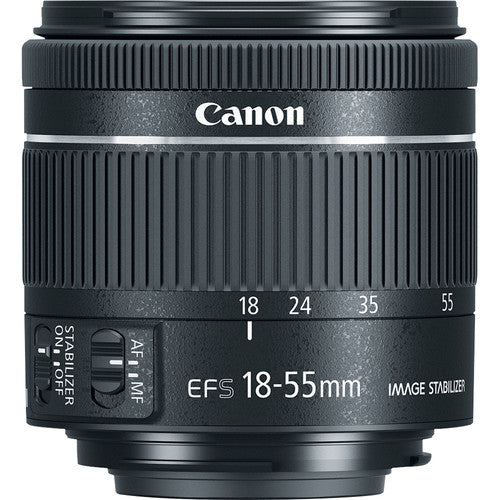 Canon EF-S 18-55mm f-4-5.6 IS STM Zoom Lens