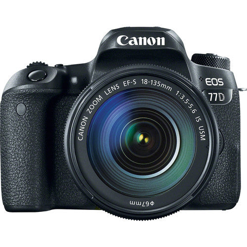 Canon EOS Rebel 77D DSLR Camera with 18-135mm USM Lens Kit